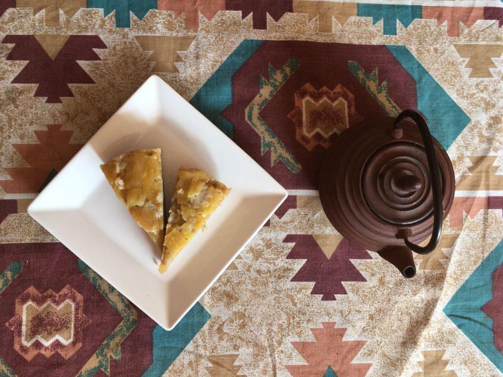 Torta de Manzana Vegana